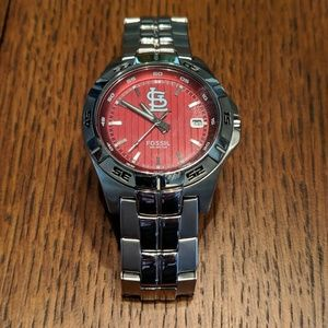 St. Louis Cardinals Authentic Fossil Watch